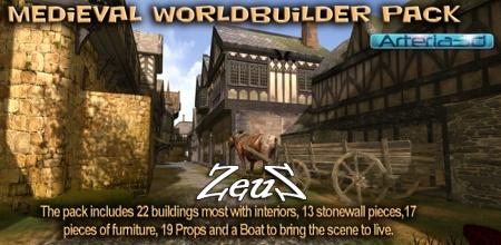 iClone Props Pack - Medieval Worldbuilder Pack