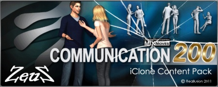 iClone Motion Pack - MixMoves Communication 200