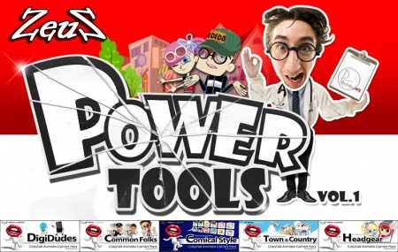 CrazyTalk Animator Combo Pack - Power Tools Vol.1