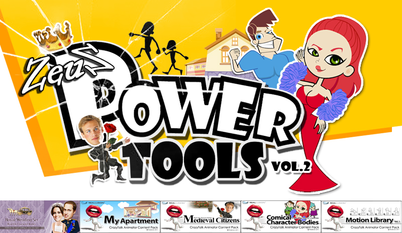 CrazyTalk Animator Combo Pack - Power Tools Vol 2 » Page 3