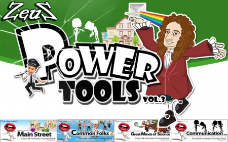 CrazyTalk Animator Combo Pack - Power Tools Vol.3