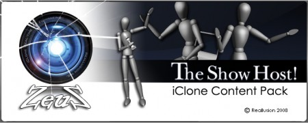 iClone Motion Pack - The Show Host!