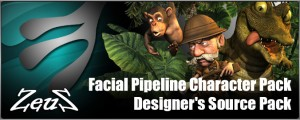 Facial Pipeline Character Pack + Designer's Source Pack (UPD)