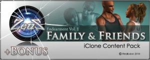 iClone Motion Pack - Endearment Vol. 1, 2 + BONUS