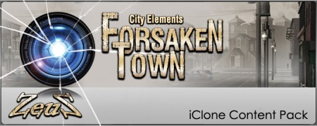 iClone Props Pack - City Elements - Forsaken Town