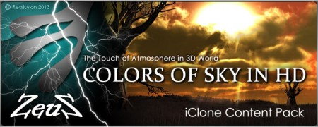 iClone Sky Pack - Colors of Sky in HD