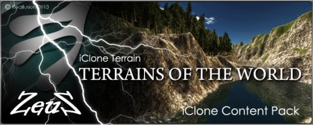 iClone Terrain Pack - Terrains of the World (VIP)