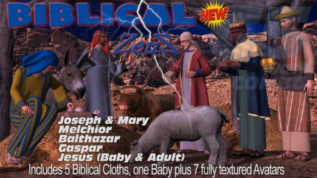 iClone Character Pack - G5 Marvelous Biblical Nativity COMBO