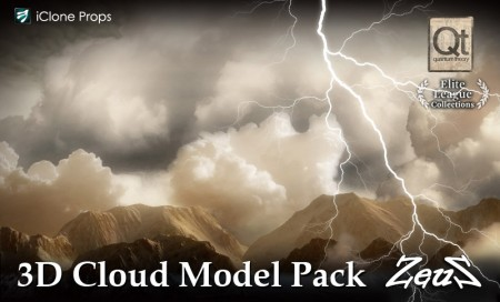 iClone Props Pack - 3D Cloud Model Pack