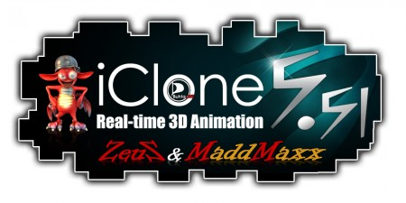 Reallusion iClone v.5.51 PRO + Resource Pack