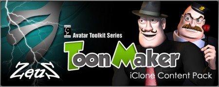 iClone Combo Pack - Toon Maker