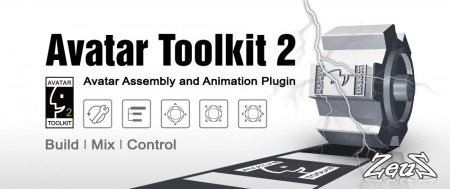 iClone Plug-In Pack - Avatar Toolkit 2