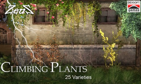 iClone Props Pack - Climbing Plants