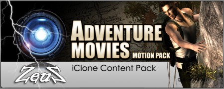 iClone Motion Pack - Adventure Movies