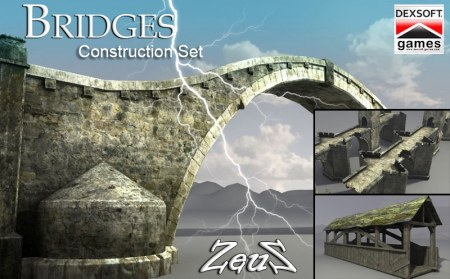 iClone Props Pack - Bridges Construction Set