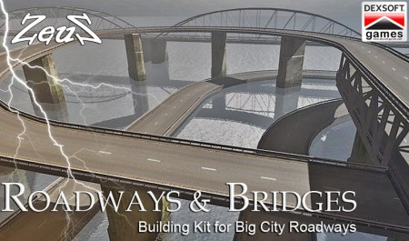 iClone Props Pack - Roadways and Bridges