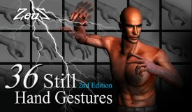 iClone Hand Pack - Animated & Still Hand Gestures (2nd Edition)
