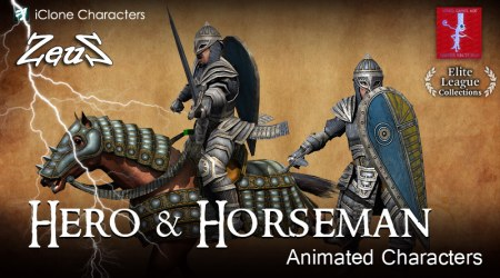 iClone Combo Pack - Hero and Horseman
