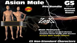 iClone Character Pack - G5 Natural Human Base (6 in 1)