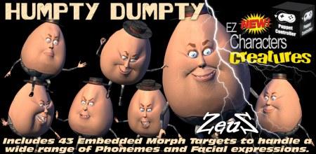 EZ Character Humpty Dumpty Toon Egg
