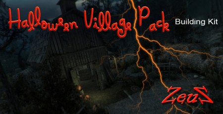 iClone Props Pack - Halloween Village