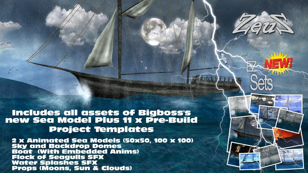 iClone Scene Pack - EZ Sets Sea Model » Page 3 » Buhta WS