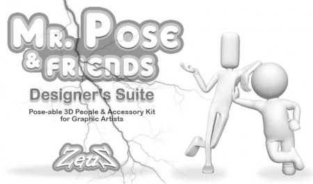 iClone Combo Pack - Mr. Pose and Friends