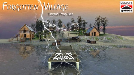 iClone Props Pack - Forgotten Village