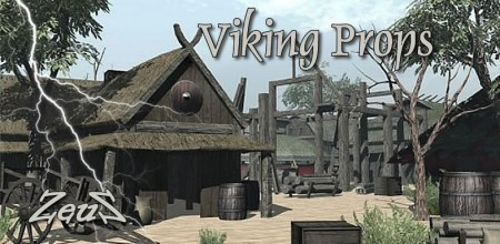 iClone Props Pack - Viking Props