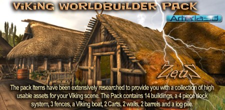 iClone Props Pack - Viking Worldbuilder Pack