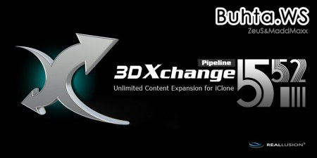 iClone 3DXChange 5.52 Pipeline