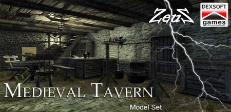 iClone Props Pack - Medieval Tavern