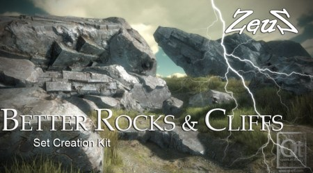 iClone Props Pack - Better Rocks and Cliffs