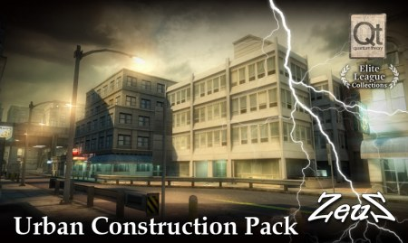 iClone Props Pack - Urban Construction Pack