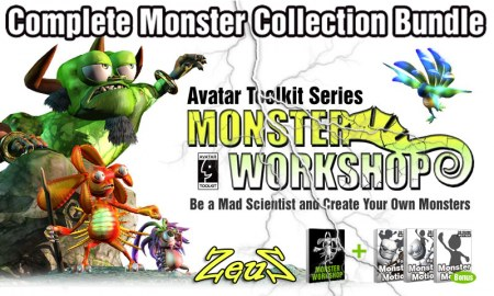 Monster Workshop - Complete Monster Collection Bundle