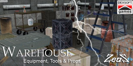 iClone Props Pack - Warehouse Equipment