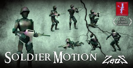 iClone Combo Pack - Soldier Motion