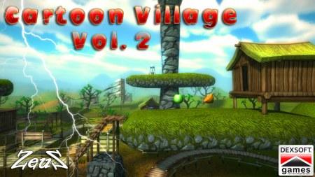 iClone Props Pack - Cartoon Village Vol.2