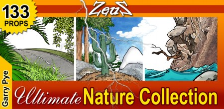 CrazyTalk Animator Prop Pack - Garry Pye Nature Collection
