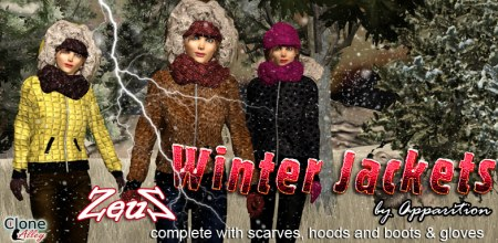 iClone Character Pack - Winter Jackets