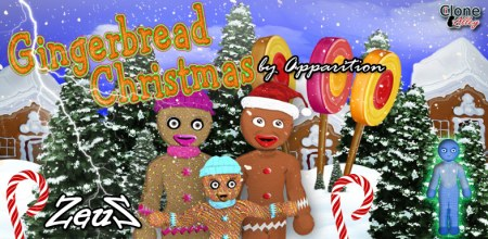 iClone Character Pack - Gingerbread Christmas