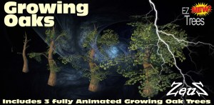 iClone Props Pack - EZ Growing Trees (FOR VIPs ONLY)