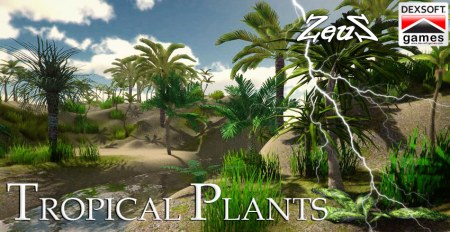 iClone Props Pack - Tropical Plants