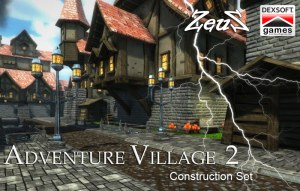 iClone Props Pack - Adventure Village Construction Set 1 & 2