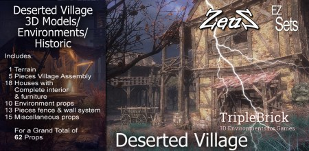EZ Set Deserted Village