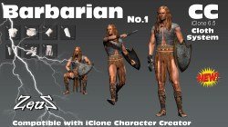 cc Cloths Barbarian Bundle