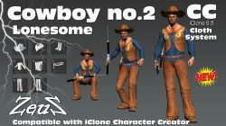 cc Cloths Cowboys Bundle