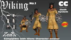 cc Cloths Vikings Bundle
