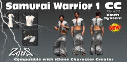 cc Cloths Samurai Warriors Bundle