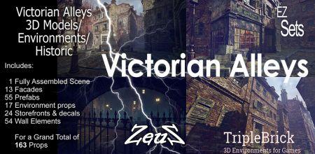 EZ Sets Victorian Alleys